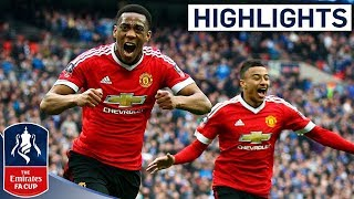 Everton 1-2 Manchester United - Emirates FA Cup 2015/16 (Semi-Final) | Goals & Highlights