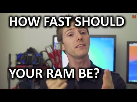 High Speed RAM - Is it Worth it? DDR3 1333MHz vs 2400MHz Test