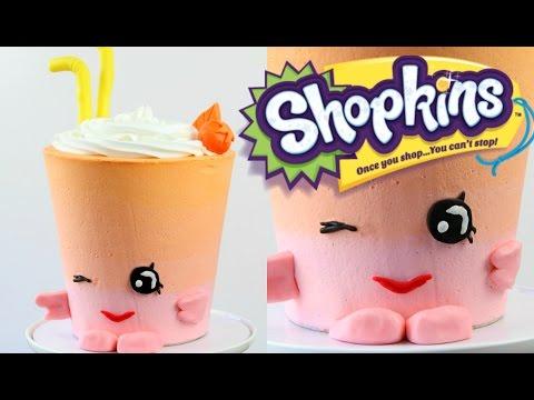 SHOPKINS Berry Smoothie Cake! - CAKE STYLE