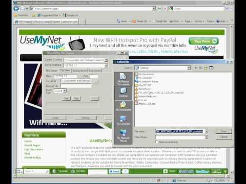 Restore Firmware on WRT-54 series - UseMyNet.com
