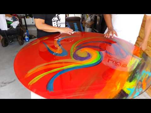 Alton Altonartwork Cooper Glass TableTop Creation