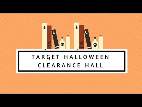 TARGET HALLOWEEN CLEARANCE HAUL!!!