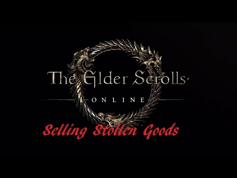 Selling stolen items in eso