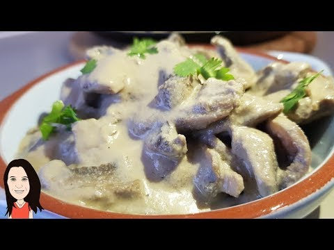 Creamy Mushroom Stroganoff - Easy Vegan Lunch or Dinner Recipe!