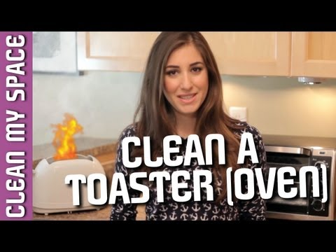 How to Clean a Toaster (Oven!) Helpful Tips for Cleaning Your Kitchen Appliances (Clean My Space)