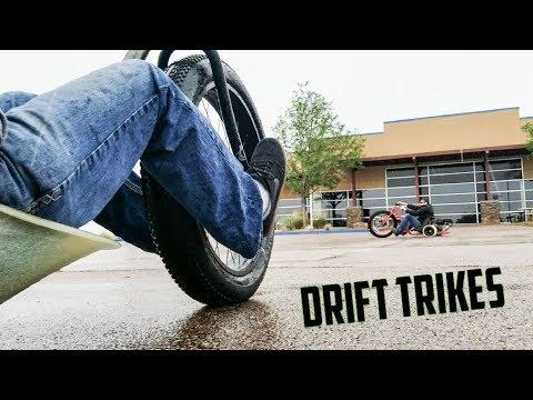 Motorized Drift Trike - Build Tune Race