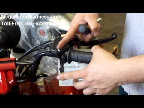 How To use The Governor on your Kids ATV 4 Wheelers Quads @MegaMotorMadness.com