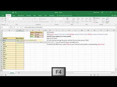 Excel's IFS Function - Easier Than a Nested IF