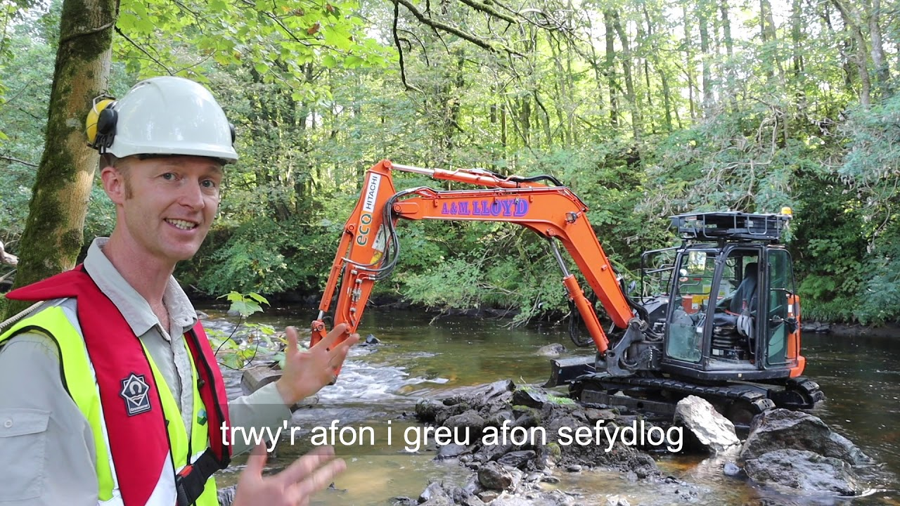 LIFE Dee River Project - Tryweryn Weir Removal