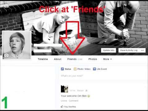 20150625 How to... Find & delete friends in Facebook, who deleted their profile?