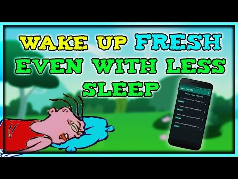 How to Wake up Fresh even with Less Sleep