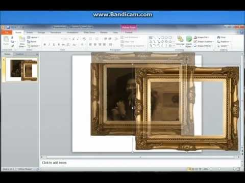 PowerPoint 2010 Tutorial: Framing a photo creatively