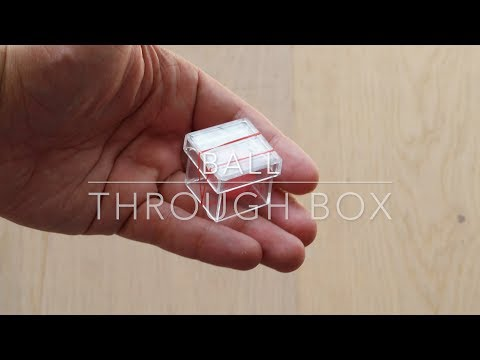 Ball through box trick