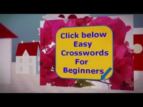 free easy crosswords
