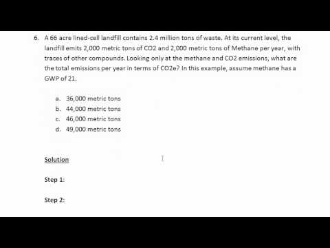 Calculating Emissions   Examples 5 and 6