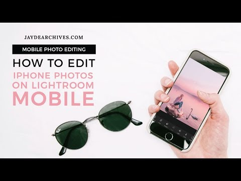 Editing iPhone Photos on Lightroom Mobile