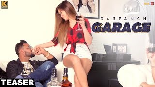 Garage ★ Teaser ★ Sarpanch ★ Nirvair Dhillon ★ Kumar Records