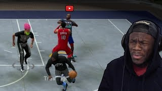 Trash Talker Exposes Youtuber | Gets In Fight On Court (live Reaction) #1
