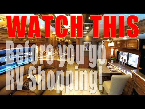 RV Shopping Tips for Buying an RV | Full Time RV Living