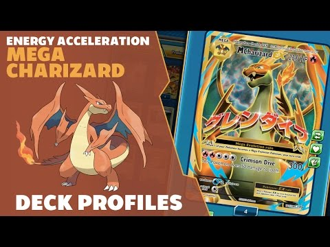 Deck Profile Ep 03 -Mega Charizard Y- Pokemon Trading Card Game Online