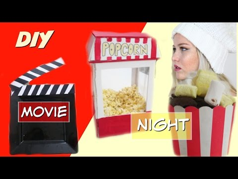 DIY movie night/party | Kim Eden Gazit