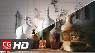 "CGI 3D Breakdown ""Making of Bottles of life"" by Farid Ghanbari"