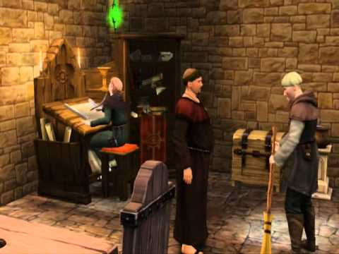 The Sims Medieval - Jacoban and Peteran priests