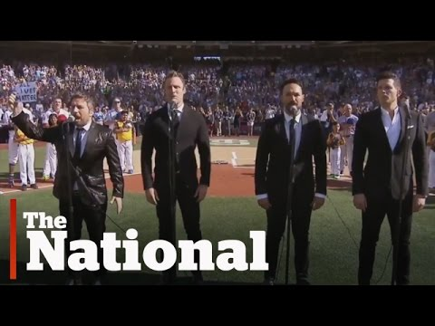 The Tenors address O Canada change controversy