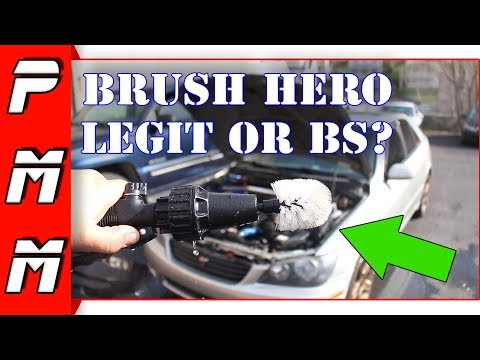 Brush Hero Pro Wheel Brush Review BS or Legit? Is it the best wheel cleaning tool?