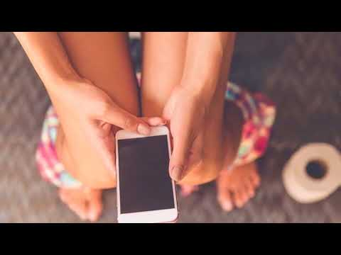 After watching this, you will never use your mobile phone again in a bathroom