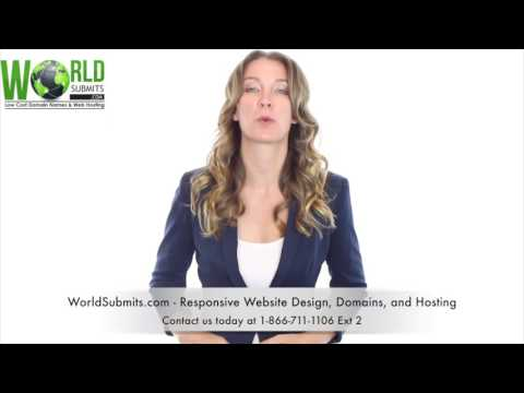 WorldSubmits com - Responsive Website Design, Domains, and Hosting