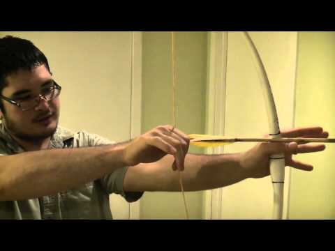 How to Hold a Bow Using the Mongolian or Thumb Release