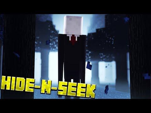 SLENDERMAN'S SECRET?! Minecraft Slenderman HIDE N SEEK