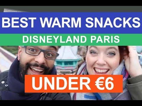 Best warm snacks of Disneyland Paris below 6 euro | cheap food ideas snacks eurodisney