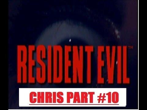Resident Evil 1 Chris Part10 Flamethrower