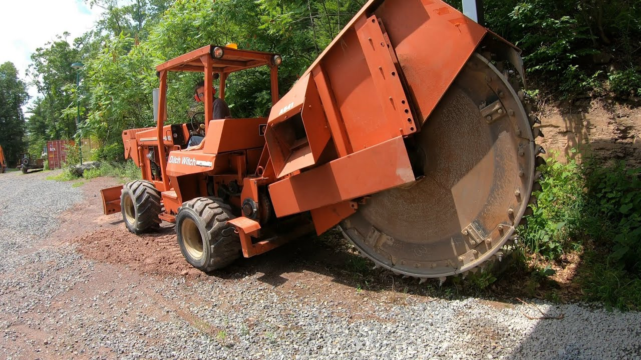 Buying a trench digger