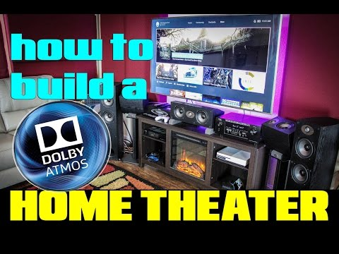 How to build a Dolby Atmos Home Theater