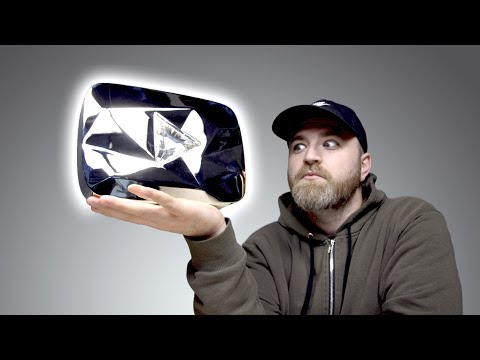 Unboxing The Diamond Play Button...