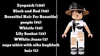Roblox Girl Outfit Codes In Desc