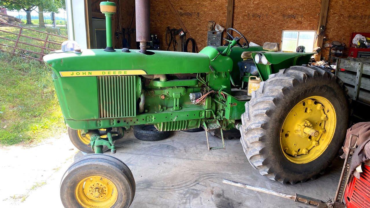All of my Grandpas Fancy New Tractors