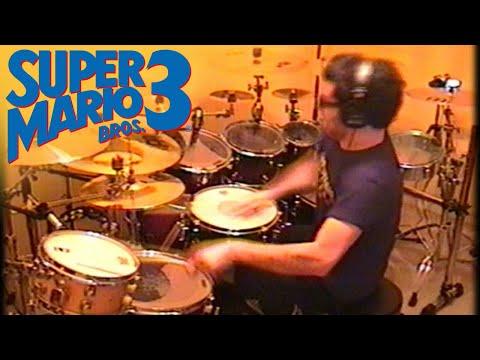 Vadrum Meets Super Mario Bros 3 (Drum Video)