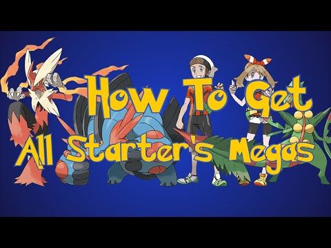 Pokemon Omega Ruby and Alpha Sapphire Tips: How To Get All Starter's Mega Evolutions Stone