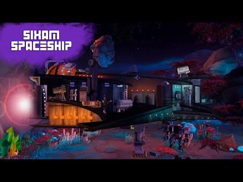 SIXAM SPACESHIP Sims 4 || Speed Build || Simsbiosis