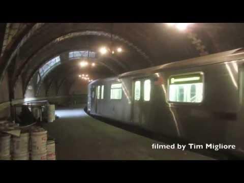 Abandoned/Secret New York Subway Station - City Hall Station