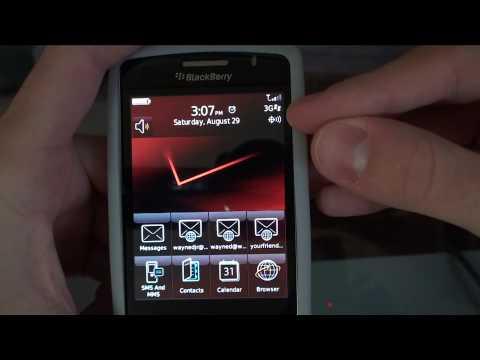 Blackberry Storm 9530 Leak OS 5.0.0.191