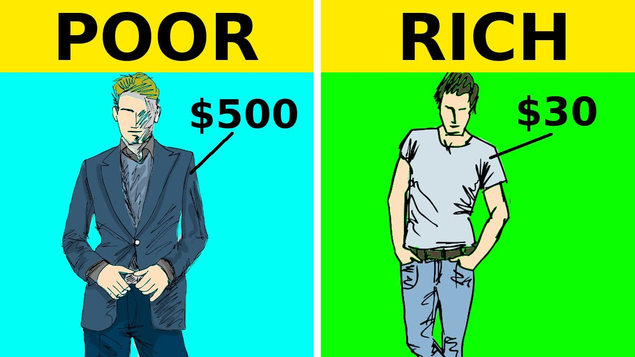 11 BIGGEST Differences Between Rich And Poor People!