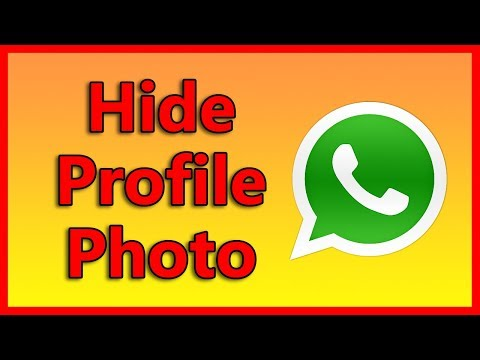 How to hide your profile picture on WhatsApp   Tutorial 2018
