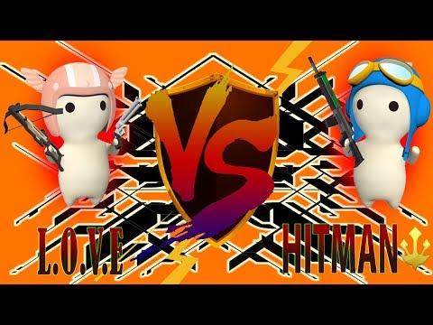 HITMAN VS L.O.V.E - Escort Map [MilkChoco Clan Battle]