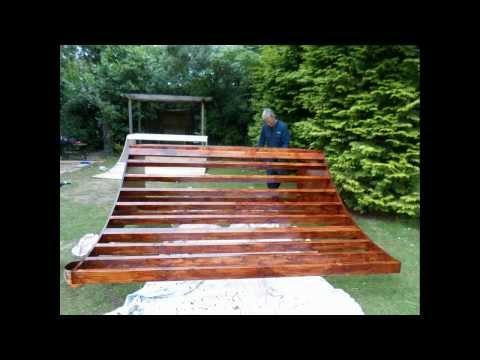 Building a 3ft mini ramp