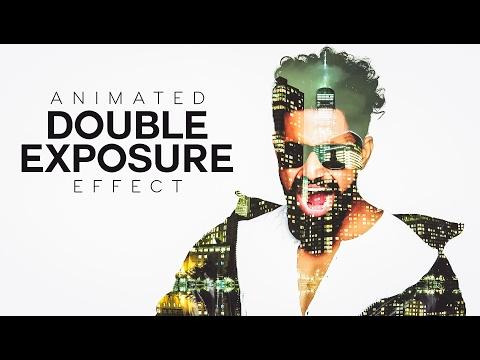Animated Double Exposure Effect - Photoshop Tutorial [Photoshopdesire.com]